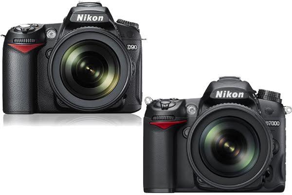 Nikon D90 vs. D7000