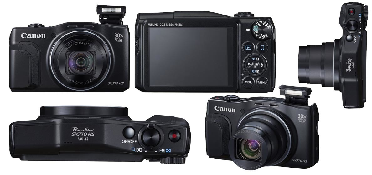 Canon Powershot SX710 HS vs. Panasonic Lumix DMC TZ60 2