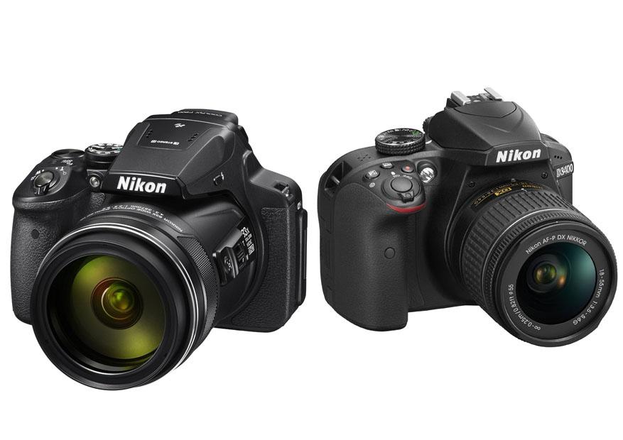 Nikon Coolpix P900 vs. D3400 1