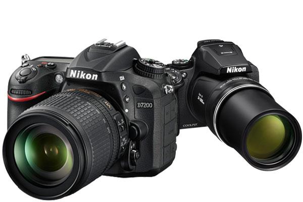 Nikon Coolpix P900 vs. Nikon D5500 2