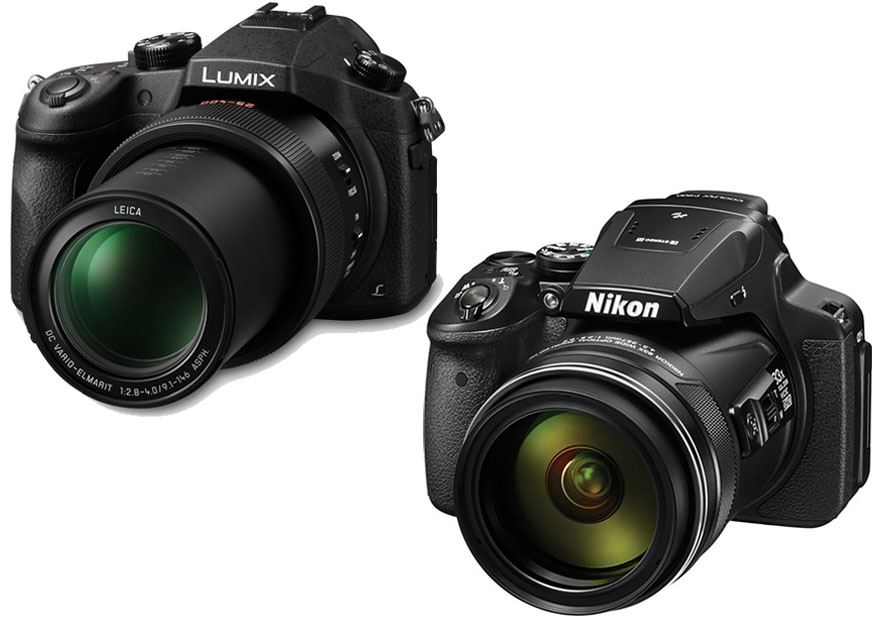 Nikon Coolpix P900 vs. Panasonic FZ1000 1