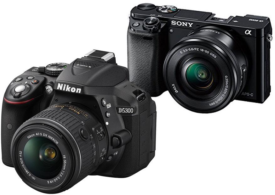 Nikon D5300 vs. Sony A6000 1