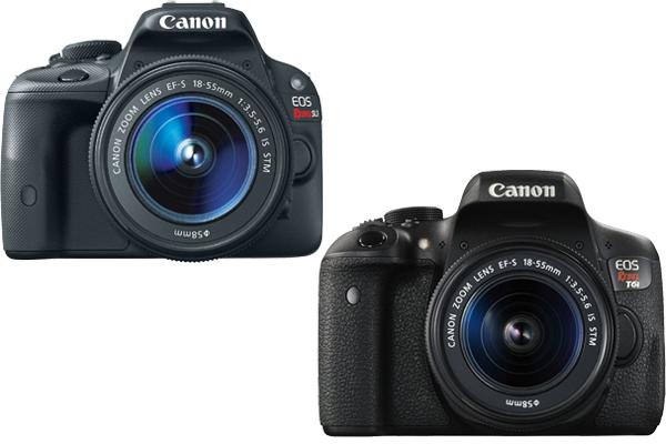 Canon SL1 vs. T6i