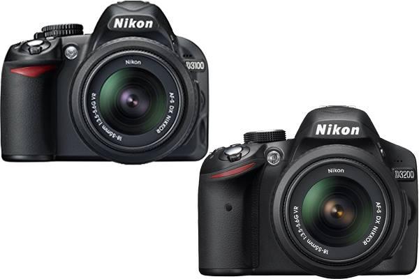 Nikon D3100 vs. D3200