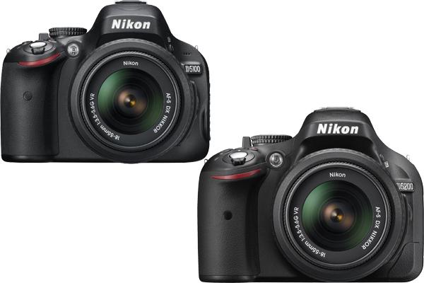 Nikon D5100 vs. D5200