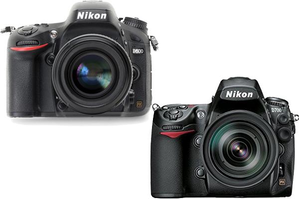Nikon D600 vs. D700