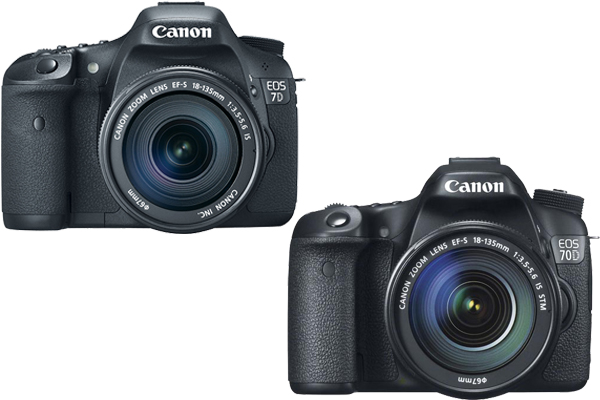 canon 7d vs 70d