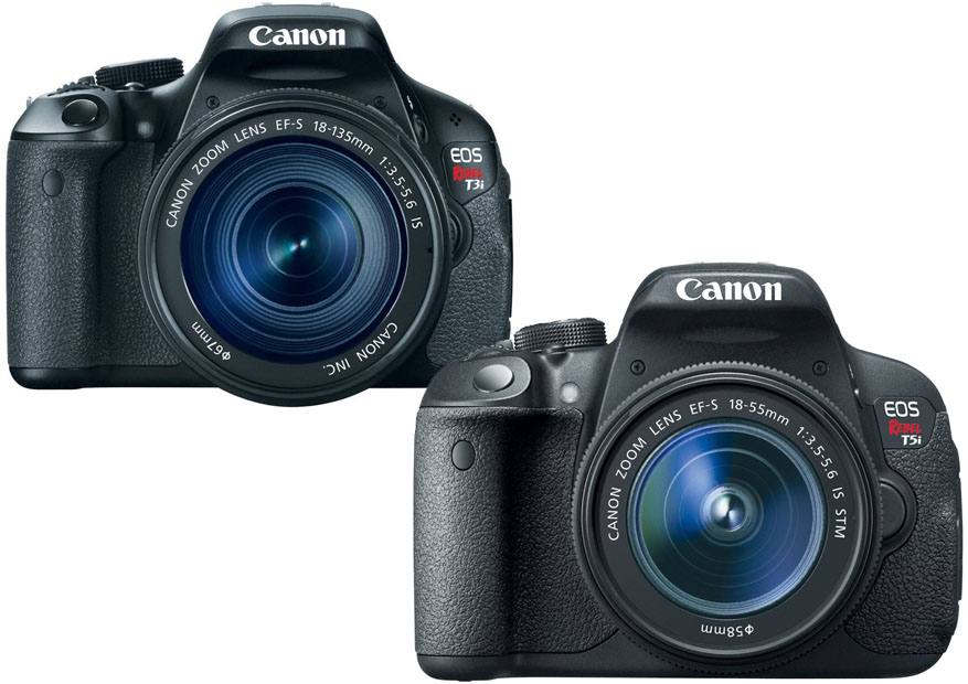 Canon Rebel T3i vs. T5i