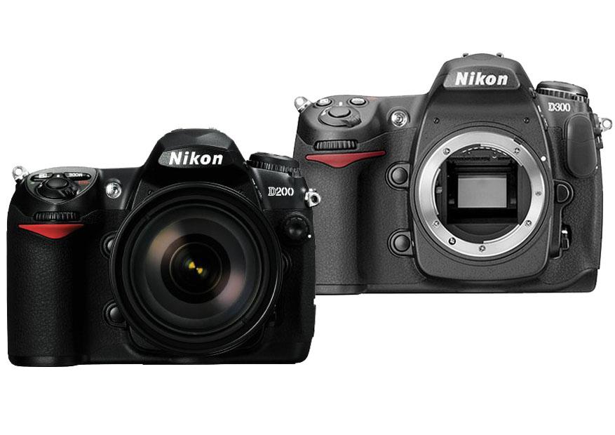 Nikon D200 vs. D300