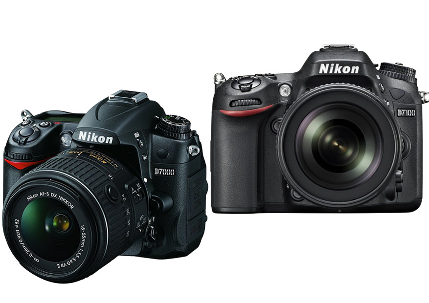 Nikon D7000 vs. D7100